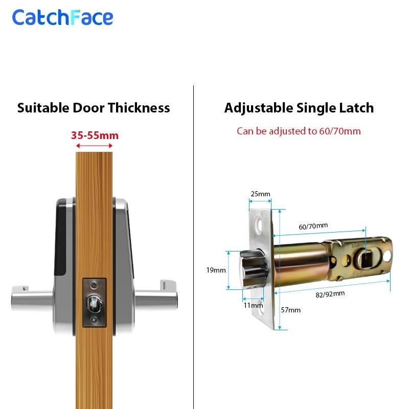 Closeout DealsBiometric Fingerprint Door Lock Bluetooth Smart Lock Digital Keypad RFID Keyless Entry Door Lock Alexa/TTlock APP