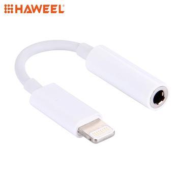 HAWEEL 8 Pin a de Audio de 3,5mm adaptador de auriculares para iPhone 7 / 7 Plus / 6 6s/6/6 Plus y 6s Plus