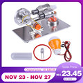 Boutique DIY Stirling Motor Modell Kit Physik Wissenschaft Lampe Experiment Spielzeug Modell Gebäude Kits Spielzeug Für Kinder