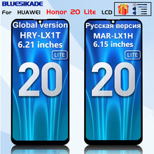 For Huawei Honor 20 lite LCD Display MAR- LX1H Touch Screen For Huawei Honor 20i Display HRY-LX1T LCD Replacement Parts