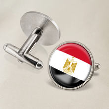 Запонки герб Египта с гербом национального флага