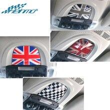 Araba iç çatı okuma işığı Sticker MINI Countryman F60 F 60 MINI Clubman için F54 F 54 Styling dekorasyon aksesuarları