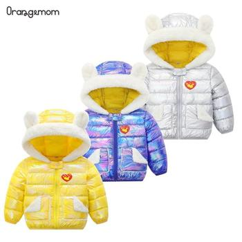 Baby Down Winter Jacket Baby Girl Jacket Hoodies Infant Boys Jackets Children Shiny Cotton Outwear Tops For Toddler Girl Coats 2019 floral festival baby girls long sleeve dress winter warmer girl down jacket dresses children cheongsam outwear blouses