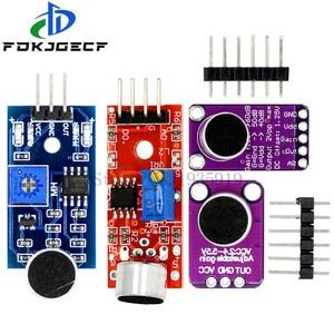 KY-037 модуль датчика звука датчик звукового контроля MAX4466 MAX9814 переключатель обнаружения свисток Микрофон Усилитель для Arduino