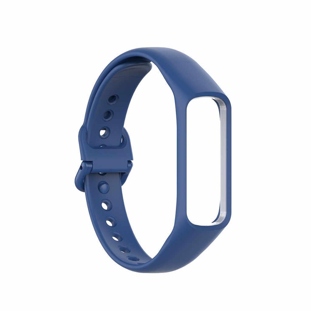 OTOKY جديد سيليكون استبدال حزام (استيك) ساعة شريط للرسغ متوافق لسامسونج غالاكسي صالح SM-R370 حزام معصمه سوار ذكي