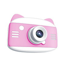 Digital-Camera Photo-Video Kids Cartoon Children Cute 1080P for with Game Best-Gift 12MP