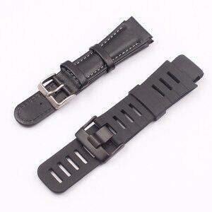 Image 3 - Watch Accessories Silicone Watch Strap Suitable for SUUNTO  X LANDER  Spartan Warrior Strap Convex 22mm Mens Watch Strap