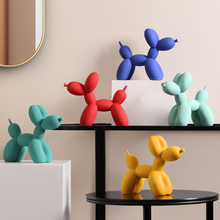 Balloon dog resin creative simple living room desktop TV cabinet decoration home decor kawaii room decor