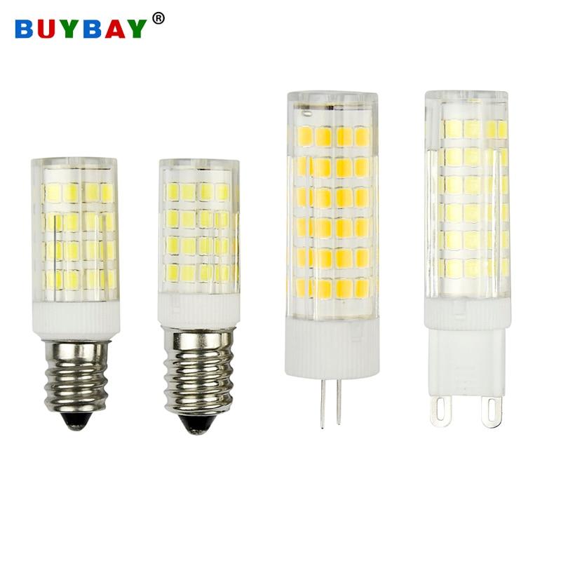 E14 LED Lamp LED E12 Corn Bulb 2835 SMD Home Decor Bulb 220V Lamparas Led G4 G9 Light Bulbs 110V Energy Saving Indoor Lighting
