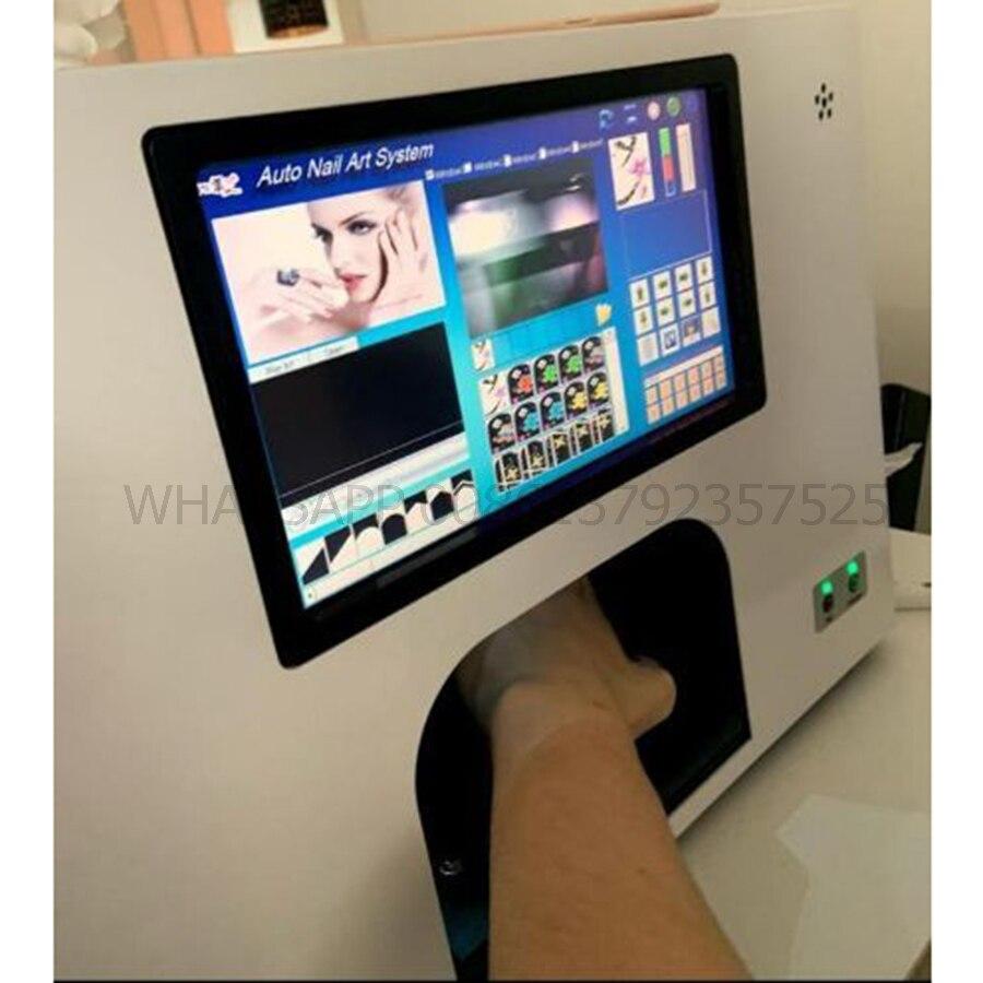2020 новый принтер для ногтей, принтер для дизайна ногтей, 3 розы, печать, сделай сам, дизайн ногтей, 10,2 дюймов, сенсорный экран и компьютер внут...
