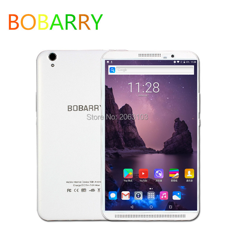 BOBARRY Tablet PC 8 Inch Octa Core 6GB 64GB 1280x800 FHD 2.0MP+8.0MP Android 9.0 Tablets Dual SIM Call Phone GPS FM Phablet