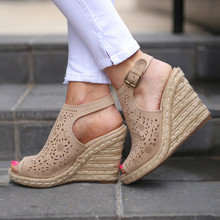 2020 New Women's Platform Sandals Summer Fashion Leisure Peep toe High heel