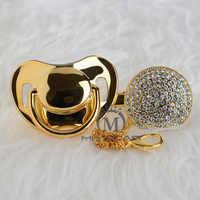 BLING alle gott schnuller und schnuller clip einzigartige design für baby SGS zertifikat sicher luxuriöse schnuller geschenk für baby A8