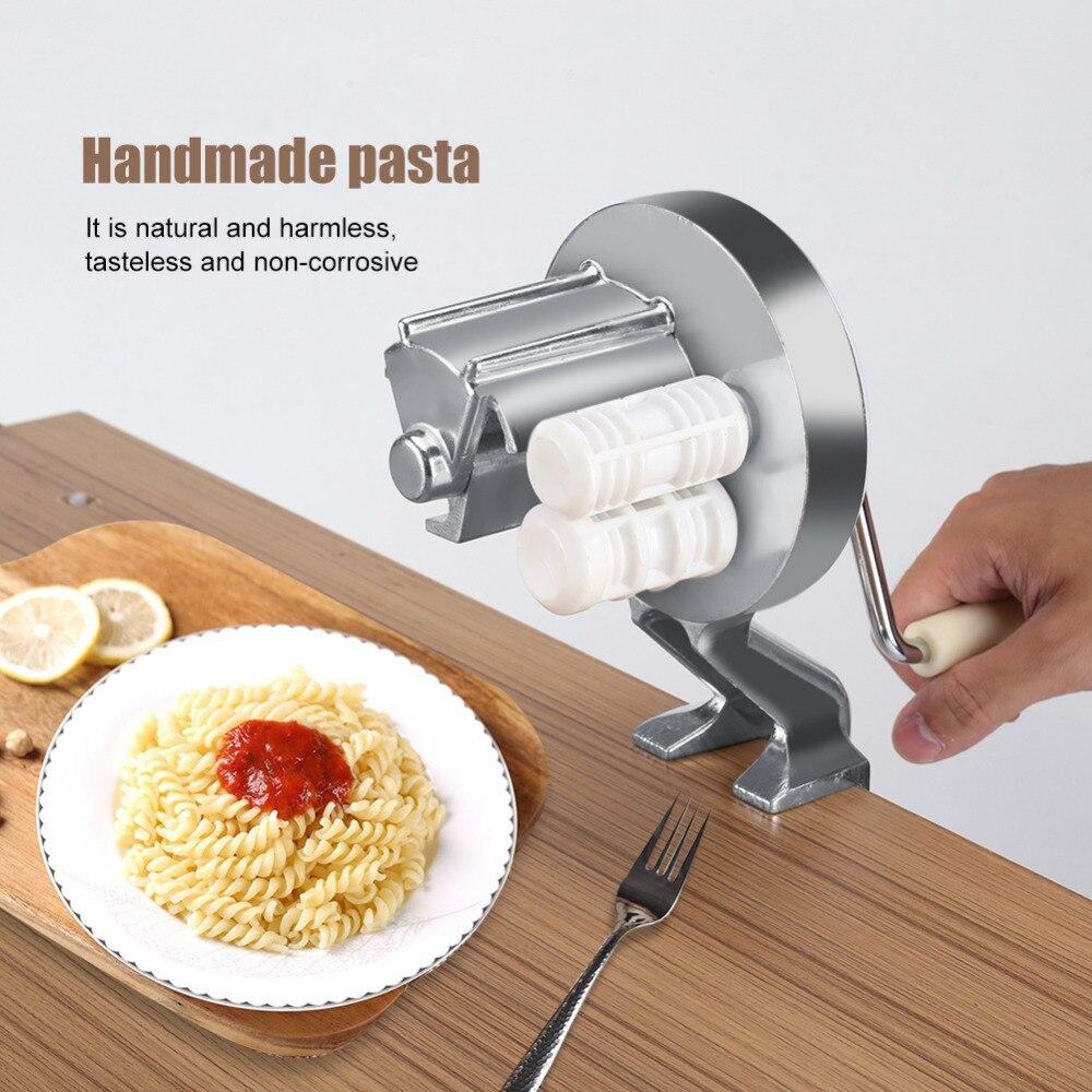 Handgemachte Spaghetti Pasta Maker Cutter Aluminium Legierung Fettuccine Nudel Presse, Der Maschine
