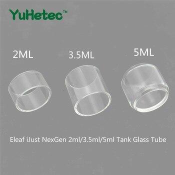 5PCS Original YUHETEC Replacement Glass TUBE for Eleaf iJust NexGen 2ml/3.5ml/5ml Tank original eleaf istick 40w vape kit 2600mah ijust 2 mini tank atomizer 2ml