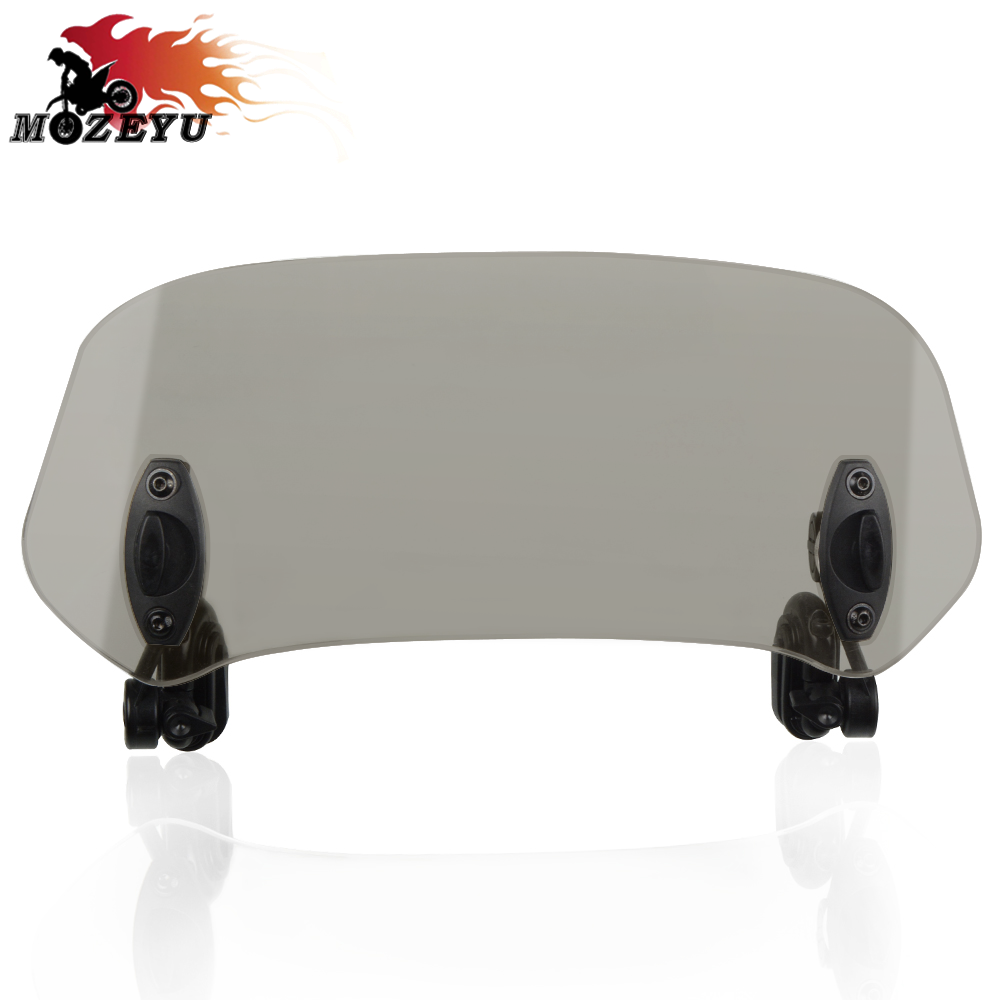 For <font><b>Suzuki</b></font> GSX 250R GSX250R ABS SV650A SV650SF <font><b>GSX650F</b></font> motorcycle Risen Adjustable Wind Screen Windshield Spoiler Air Deflector image