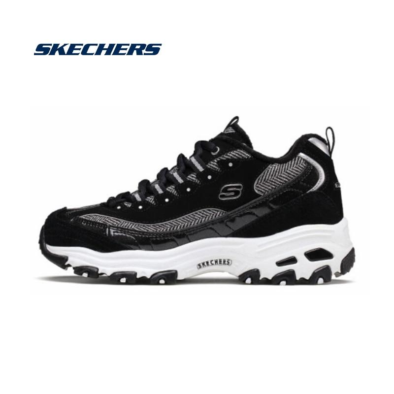 Skechers zapatos casuales para mujer zapatos cómodos gruesos para caminar zapatos de marca de alta calidad 8888233-bkgd SANDALIAS ARMONIAS PLATAFORMA