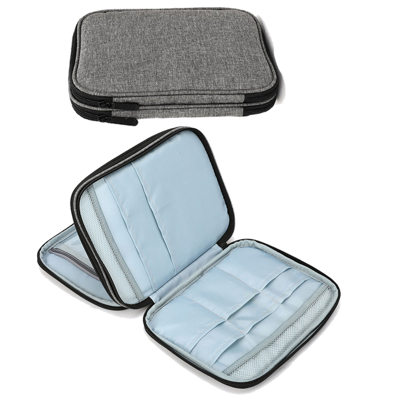 Knitting Needles Case Travel Pouch Organizer Storage Bag For Circular Knitting Needles Crochet Hooks Sewing Accessories Kit Bag