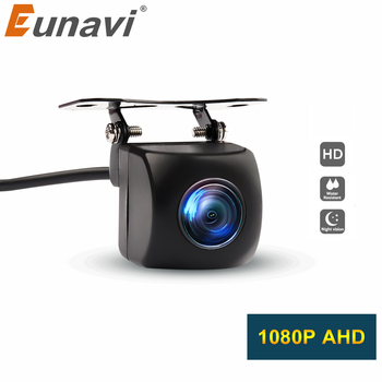 HD AHD 1080P Night Vision Car Rear View Camera Reverse Waterproof Auto Rearview Backup Reverse Camera AHD Parking Assistance image
