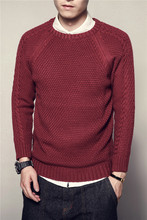 2019 Style Chinese Casual Men Sweater Streetwear Clothes Knitted Pullovers For Autumn Winter