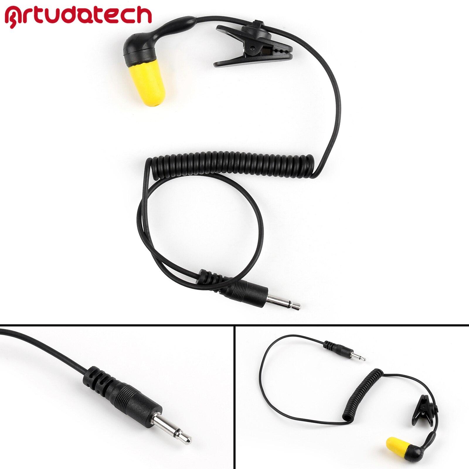 Artudatech 1Pcs 3.5mm Single Foam Slow Rebound Earbud Headset For 2-Way Radio MP3 MP4