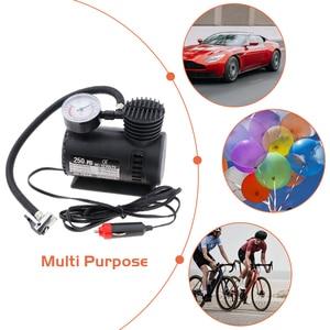 Image 4 - DC 12 V 300 PSI compresor de aire portátil bomba de neumáticos de inflador eléctrico de coche para bicicletas de motocicleta coche eléctrico ATV camión, Etc.