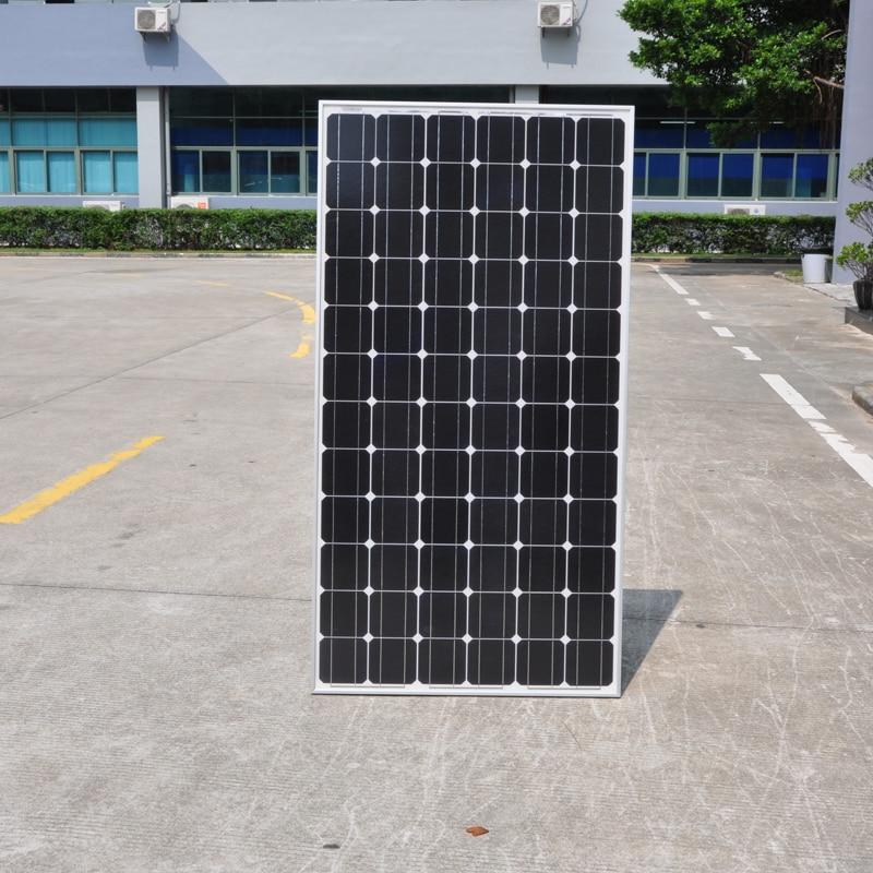 Panneau solaire 300W 24v Monocristallin Chargeur De Batterie Solaire Système Domestique 1800w 2100w 2400w 2700w 3000w RV Bateau Maison Caravane