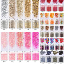 5 pots/set Mix UV Epoxy Resin Mold Filling Sequins Nail art DIY Making Epoxy Resin Jewelry Supplies for jewelry Finding