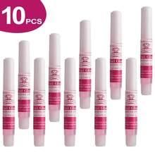 Makartt adesivos de unhas 10 peças, especialista em secagem rápida e adesivos para unhas falsas 2 g/pçs, cola para unhas diy salão de beleza