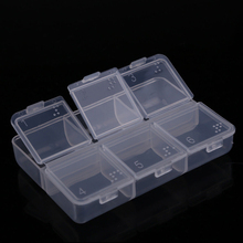 Chest Holder Storage Organizer Container Case Portableome Mini 6 Grid Plastic Pill Medicine Box Waterproof Small Medicine