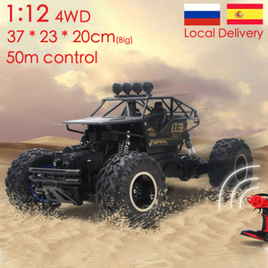 1:12 4WD RC Car Updated Version 2.4G Radio Control RC Car Toys remote control car Trucks Off-Road Trucks boys Toys for Children