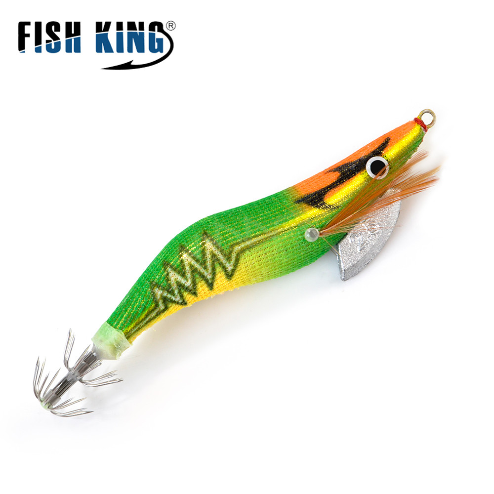 10pcs Luminous Squid Jigs Hard Bait Saltwater Lures Hooks 2.5# 3.0# 3.5# 4.0#