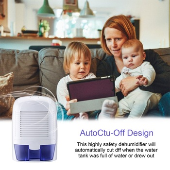 Household Removable Quiet Thermo-Electric Dehumidifier 1500ml for Room Cupboard Basement Attic Stored Boat RV Antique Car