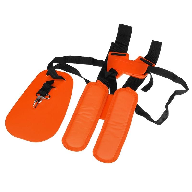 Orange Lawn Mower Double-Breasted Shoulder Strap For Strap Trimmer Mower Brush Cutter Shoulder With Lawn Mower Shoulder Strap