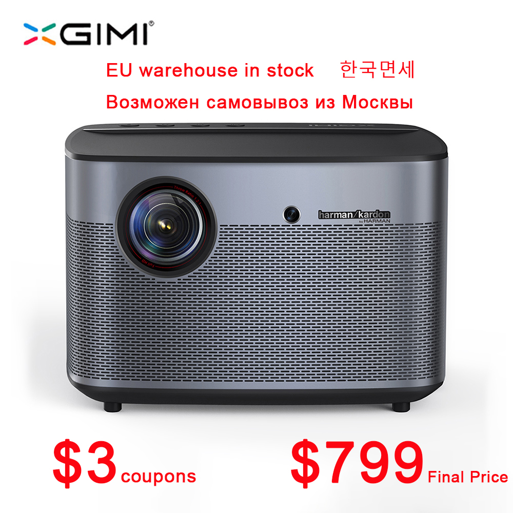 XGIMI DLP Projector Beamer Video Android H1-Upgrade Home Theater Full-Hd 1080P 3d-Support