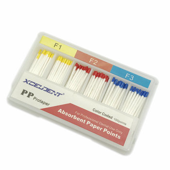 1 Box Dental Absorbent Paper Points for Protaper Files Dental Materials Root Cancel Endodontics  Absorption