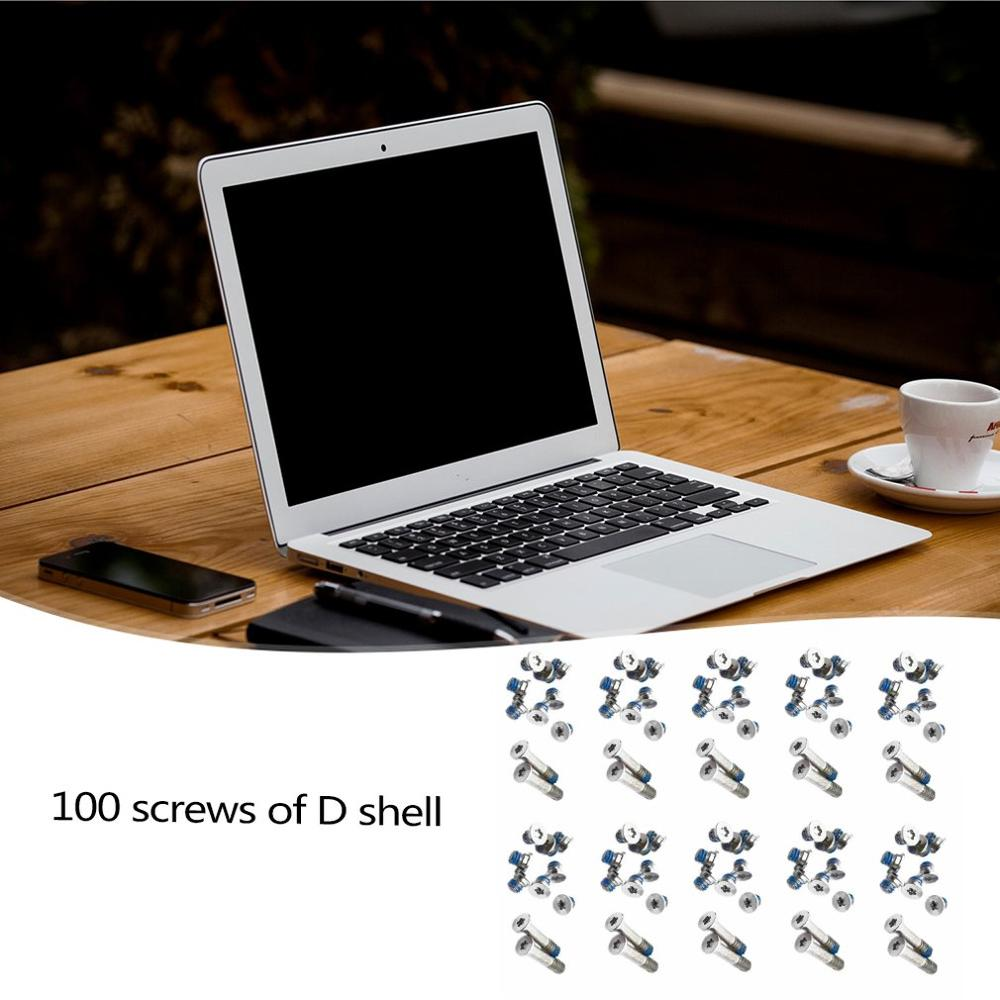 100pcs Bottom Case <font><b>Screw</b></font> Set for Notebook for Macbook for Aira1370 for <font><b>A1369</b></font> for A1465 D Shell <font><b>Screw</b></font> (10 Sets) image