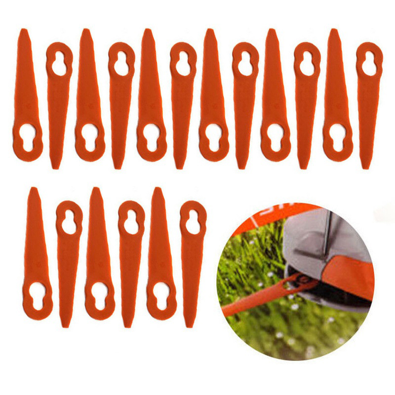 32 × Plastic Cutter Blades For Stihl PolyCut 2-2 FSA 45 Lawnmower Trimmer Tools