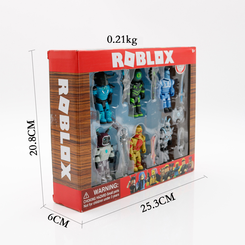 Roblox Champions Of Roblox Figure 6 Creativity Pack Roblox Roblox Champions Six Figure Pack 7cm Model Dolls Boys Children Toys Jugetes Figurines Collection Figuras Christmas Gift For Kids Action Toy Figures Aliexpress