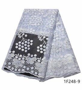 Image 3 - Najlepsze wino czerwone francuskie tiulowe siatka koronka najnowsze nigeryjskie afrykańskie tkaniny dla damska suknia ślubna z kamieniami haftowane 1F248