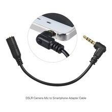 EY-S04 3.5mm 3 pólo trs fêmea para 4 pólo trrs adaptador de microfone macho cabo áudio conversor microfone estéreo para smartphone