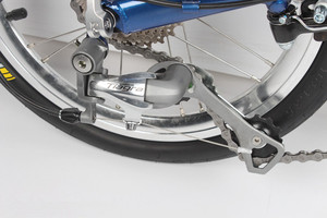 Image 5 - Fnhon FCG1609 Faltrad 16 zoll Minivelo CR MO Stahl V Bremse 9Speed Urban Pendler Fahrrad Für Shimano Shift Retro freizeit BMX