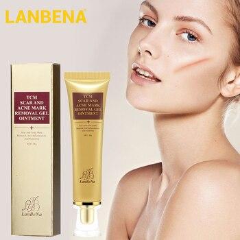 цена на LANBENA Repair Scar Serum Remove Acne Scar Stretch Marks Gel  Acne Pimple Scars Red Spots Anti-inflammatory Moisturizing Cream