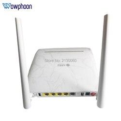 Nieuwe Zte Gpon Onu F673A V9 Ont 4GE + 1Tel + 2USB + Wifi 2.4G/5GW Verbeterde Versie van F673A V2 Goedkope Prijs