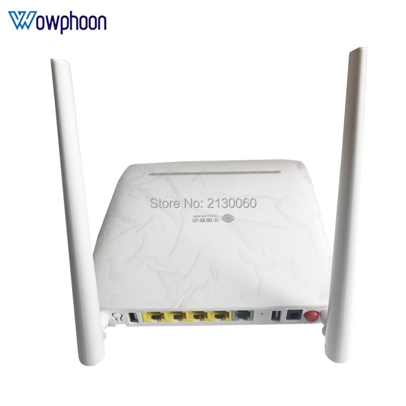 ZTE GPON ONU F673A V9 ONT 4GE + 1Tel + 2USB + Wifi 2,4G/5GW versión actualizada de F673A V2 precio barato ¡Novedad de 90%! 20 Uds. HG8010H Huawei usado de enrutador/C EPON ONU ftth de fibra, enrutador GPON ont 1GE Ont sin cajas y potencia