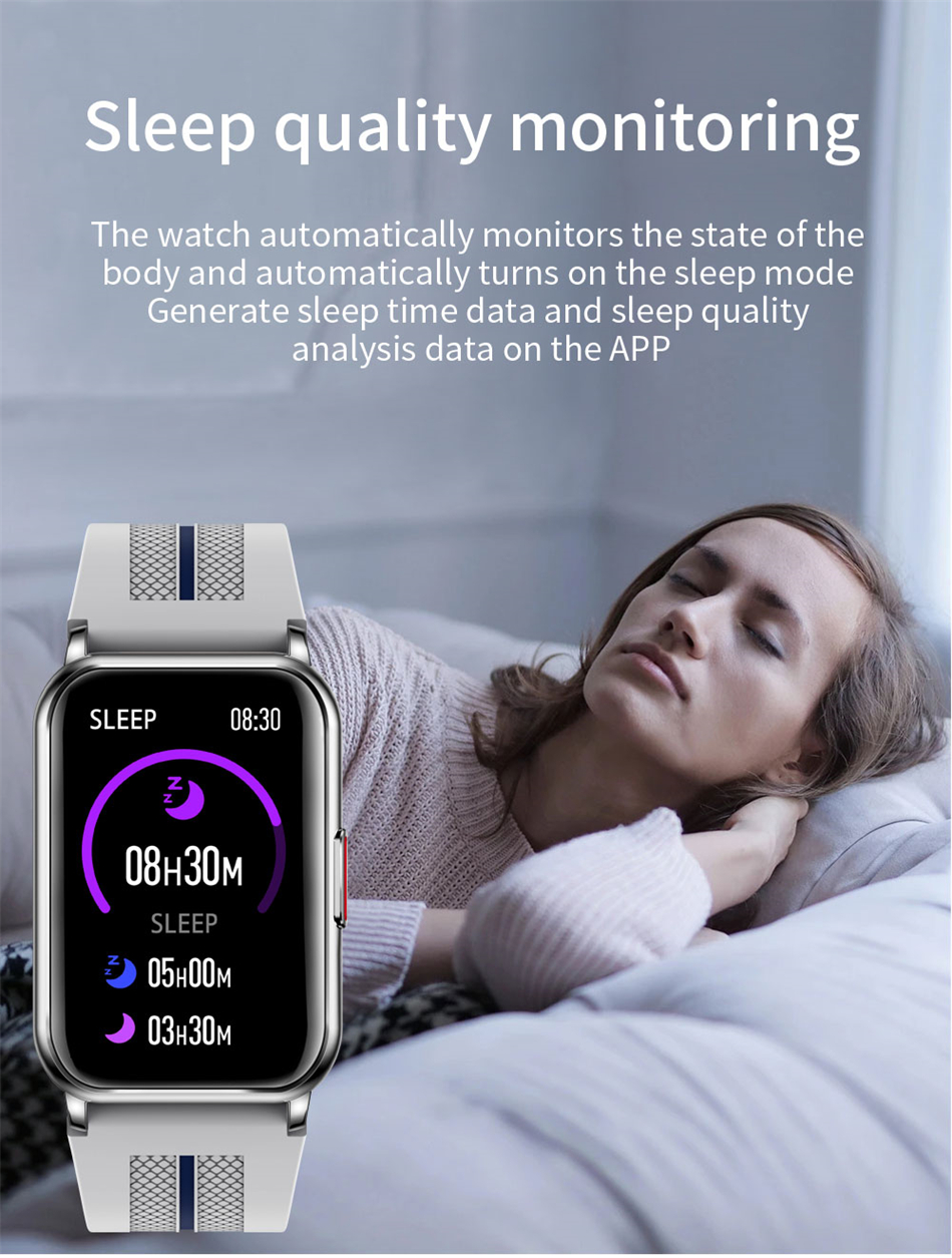 H9b63eaaeb80843deab99642d8758a641a New Smart Band Watch Fitness Tracker Bracelet Waterproof Smartwatch Heart Rate Monitor Blood Oxygen LED Screen For Huawei Xiaomi