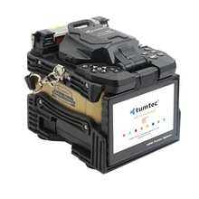 Ücretsiz DHL/ Fedex kargo çin en iyi kalite Tumtec V9 V9 + 6 motorlar ark çekirdek çekirdek optik fiber füzyon splicer makinesi