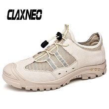CLAXNEO Man Shoes Designer Fashion Casual Shoe Male Mesh Footwear Breathable Outdoor Walking