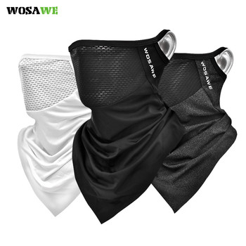 WOSAWE Unisex Sport Triangle Scarf Cycling Bandana Summer Breathable Neck Collar Sun Protection Face Guard Windproof Face Mask