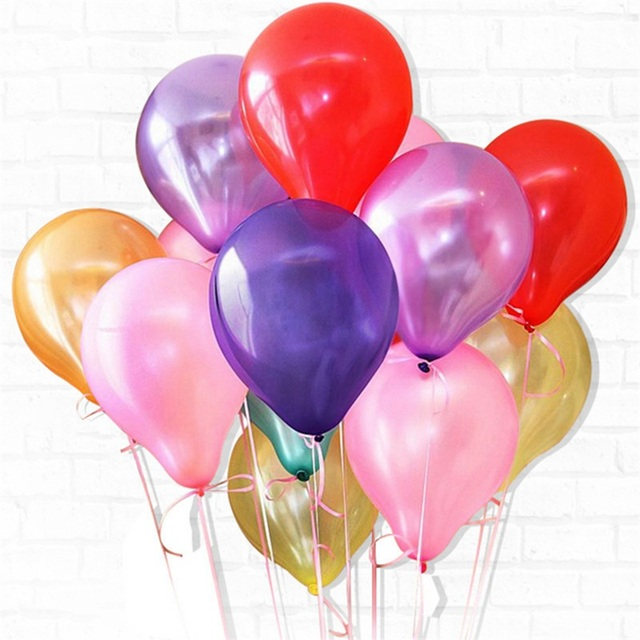 10/20/30/50Pcs 10inch 1.5g Pearl Latex Balloons Happy Birthday Party Wedding Christmas Decorations Balloon Kids Air Balls Globos